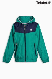 Timberland® Teal Windbreaker