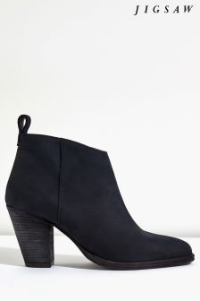 Jigsaw Blue Anneli V Front Ankle Boot