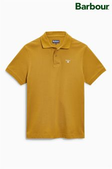Barbour® Antique Gold Sports Polo