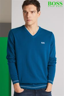 Boss Green Vime V-Neck Jumper