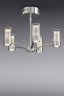 Fizz 5 Light Semi Flush