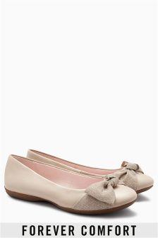 Bow Comfort Ballerinas
