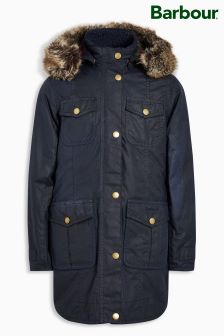 Barbour® Navy Ashbridge Wax Jacket