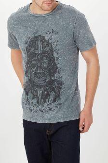 Darth Vader Print T-Shirt