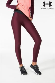 Under Armour Raisin Red Heat Gear Armour Tight