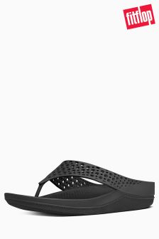 FitFlop™ Black Ringer Welljelly Flip Flop