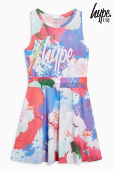 Hype Purple Floral Dress