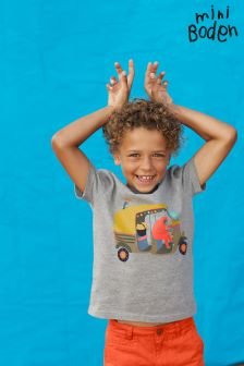 Boden Grey Animal Antics T-Shirt