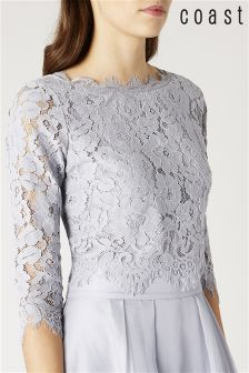 Coast Silver Sardinia Lace Top