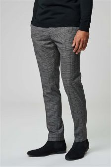 Bold Check Suit: Trousers