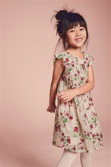 Floral Ruffle Dress (3-16yrs)