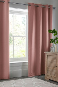 Cotton Eyelet Lined Curtains Studio Collection By Next