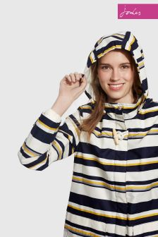 Joules Multi Stripe Waterproof Hooded Haven Jacket
