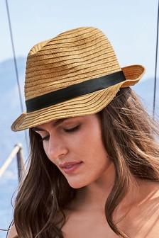 Stud Trilby Hat