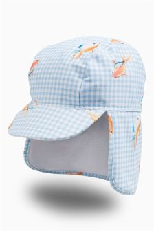 Sunsafe Legionnaire's Hat (Younger Girls)