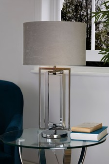 Collection Luxe Tate Chrome Table Lamp