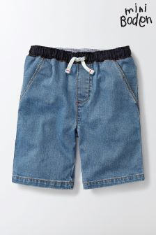 Boden Denim Pull-On Shorts