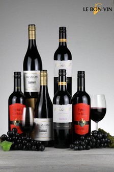 6 Bottles World Shiraz Red Wine Mixed Case