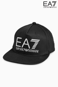 Emporio Armani EA7 Black Visibility Snapback