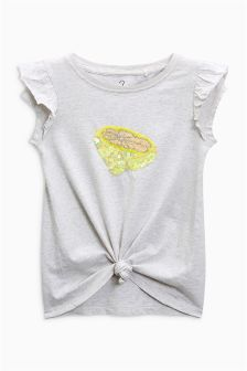 Lemon Knot Front T-Shirt (3-16yrs)