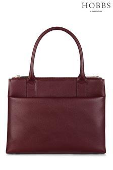 Hobbs Red Bloomsbury Workbag