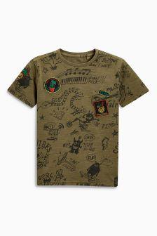 All Over Print T-Shirt (3-16yrs)