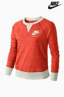 Nike Red Gym Vintage Crew
