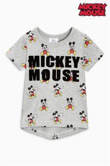 Short Sleeve Flock Mickey Mouse™ T-Shirt (3mths-6yrs)