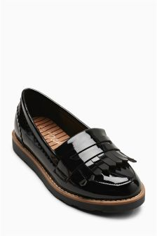 Chunky Fringe Loafers (Older Girls)
