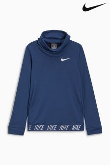 Nike Navy Dry Training Hoody