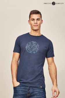Pretty Green Thornley Short Sleeve Crew T-Shirt