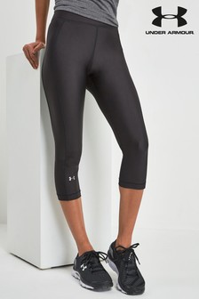 Under Armour Black HeatGear Armour Capri