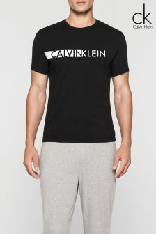 Calvin Klein Black Short Sleeve Crew Neck T-Shirt
