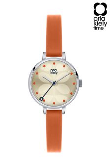 Orla Kiely Ivy Orange Watch