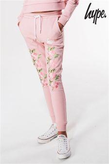 Hype Pink Embelished Jogger