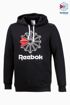 Reebok Classics Black Foundation Starcrest Hoody