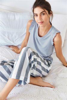 Wide Stripe Pants