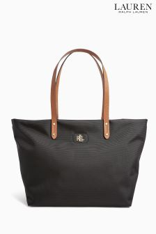 Lauren Ralph Lauren Black Bainbridge Tote