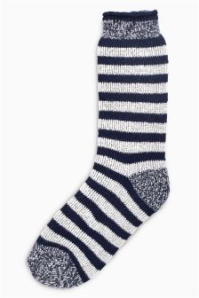 Heat Holders Stripe Walking Socks One Pack