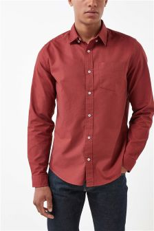 Long Sleeve Oxford Shirt