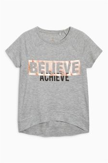 Believe Achieve T-Shirt (3-16yrs)