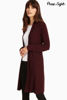 Phase Eight Merlot Lili Longline Cardi