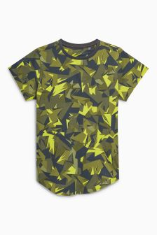 All Over Print Camo Short Sleeve T-Shirt (3-16yrs)
