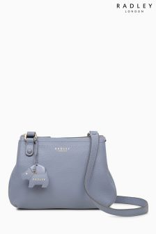 Radley Blue Phoenix Gardens Across Body Bag