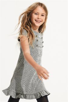 Check Military Heritage Dress (3-16yrs)