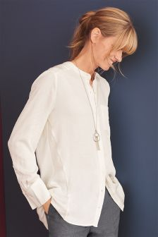 Womens Cream Shirts | Ladies Cream Striped Blouses | Next UK