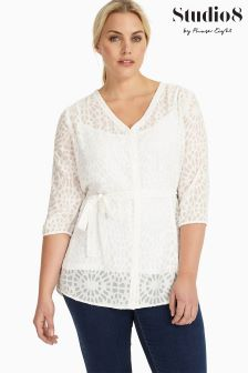 Studio 8 White Holly Blouse