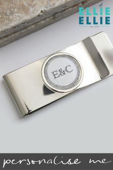 Personalised Initials Money Clip By Ellie Ellie