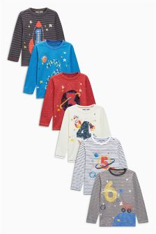 Long Sleeve I Am Space T-Shirt (12mths-7yrs)