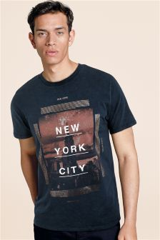 NYC Acid Wash T-Shirt